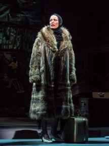 """Rachel York in """"Grey Gardens"""" The Musical. Directed by Michael Wilson, """"Grey Gardens"""" plays at Center Theatre Group/Ahmanson Theatre through August 14, 2016. The book is by Doug Wright, music by Scott Frankel and lyrics by Michael Korie. """"Grey Gardens"""" is based on the film by David Maysles, Albert Maysles, Ellen Hovde, Muffie Meyer and Susan Froemke. For tickets and information, please visit CenterTheatreGroup.org or call (213) 972-4400. Contact: CTGMedia@ctgla.org / (213) 972-7376. Photo by Craig Schwartz."""
